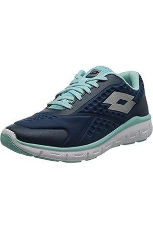 Lotto Dinamica 250 W, Zapatillas de Atletismo Mujer, (BLU ORN/Slv MT 000)