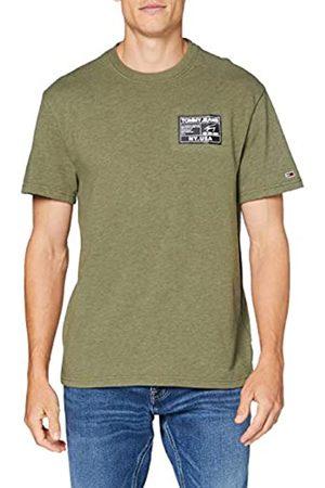 Tommy Hilfiger Black Label T Camiseta de Manga Corta con Cuello Redondo Elástico