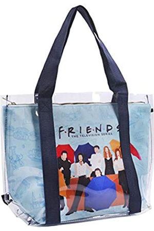 CERDÁ LIFE'S LITTLE MOMENTS 2100003307, Bolsos Grandes de Playa de Friends con Licencia Oficial Warner Bros para Mujer