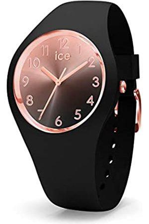 Ice-Watch ICE Sunset Black - Reloj para Mujer con Correa de Silicona