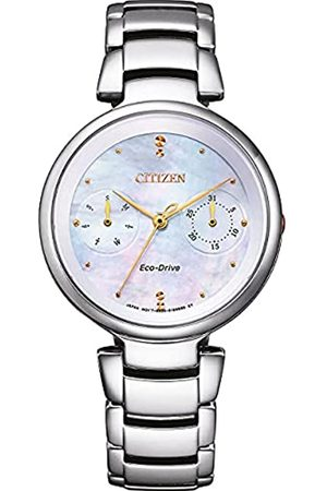 Citizen Reloj Multiesfera para Mujer de con Correa en Acero Inoxidable FD1106-81D