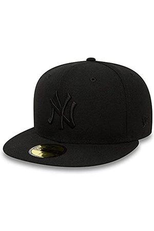 New Era York Yankees 59fifty Cap Black On Black - 7 5/8-61cm