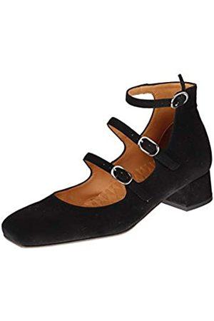 Chie Mihara Rebel Mary Jane Flat - Zapatillas para Mujer, Color
