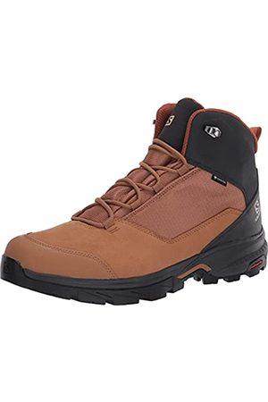 Salomon Outward GTX Zapatillas Impermeables De Senderismo Trekking Hombre, claro/ (Tobacco Brown/Phantom/Caramel Café)