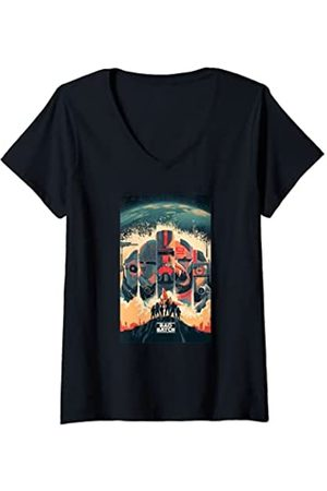 STAR WARS Mujer The Bad Batch Clone Force 99 Series Poster Camiseta Cuello V