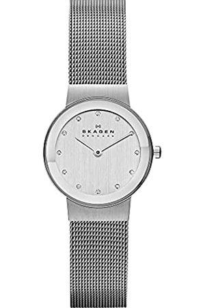 Skagen Reloj de pulsera Analógico para Mujer de Cuarzo con Correa en Acero inoxidable 358SSSD