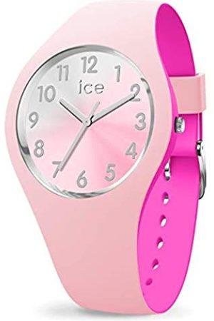 Ice-Watch ICE Duo Chic Pink Silver - Reloj para Mujer con Correa de Silicona
