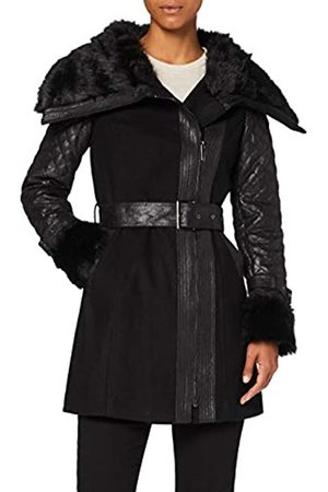Morgan Manteau Col Imitation Fourrure GEFROU Faux Fur Coat
