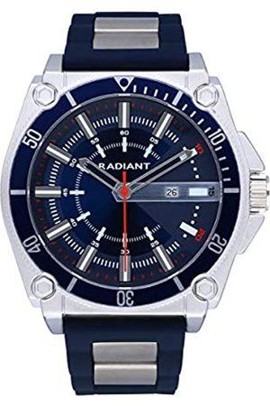 Radiant Reloj MR.Robot 49MM Blue DIAL Black Silicone S - RA552602