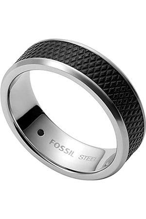 Fossil Rings Stainless Steel No Gemstones mens