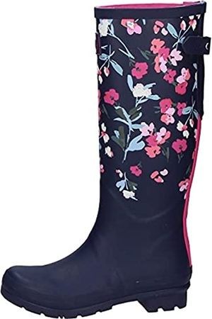 Joules Print, Botas Welly Mujer