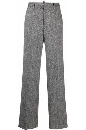 Dsquared2 Pantalones con motivo de espiga