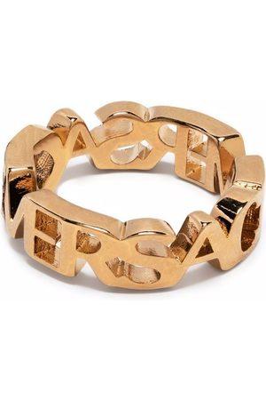Versace Logo letter ring