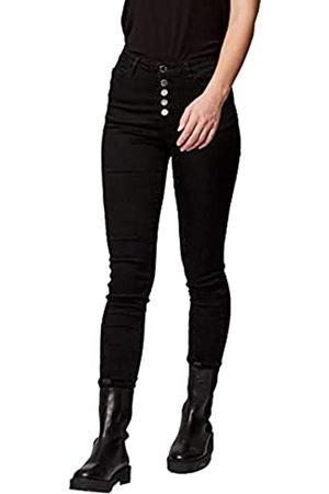 Morgan Denim Patte boutonnage apparente PBLACK Jeans