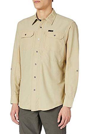 Wrangler Long Sleeve Mixed Material Shirt camisa