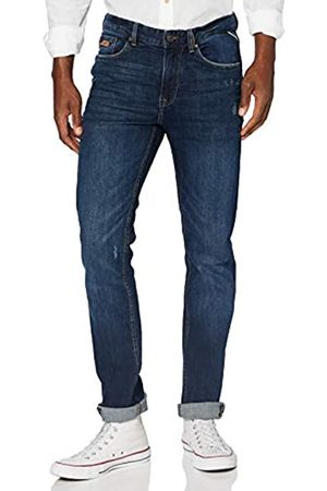 Springfield Jeans Slim Medio Oscuro-c/11 Pantalones