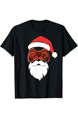 Christmas Party Shop Videojuego divertido de Santa Gamer Este es mi pijama navideño Camiseta