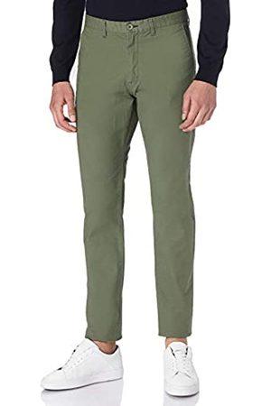 Springfield Chino Slim Micro Print Pantalones
