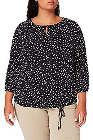 Samoon T-Shirt 3/4 Arm Camiseta 46 para Mujer
