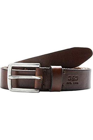 JACK & JONES JacLee Leather Belt Noos Cinturón, Black Coffee