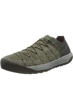 Mammut Hueco Knit Low, Zapatillas para Carreras de montaña Hombre, Tin/Dark Tin