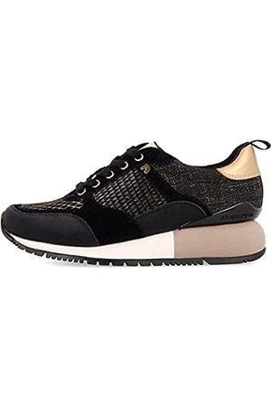 Gioseppo Sneakers Negras y Doradas para Mujer ANZAC