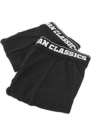 Urban classics Mens Boxer Shorts Double Pack