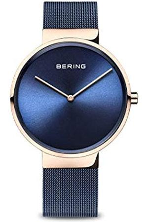 Bering Reloj Analógico Classic Collection para Mujer de Cuarzo con Correa en Acero Inoxidable y Cristal de Zafiro 14539-367