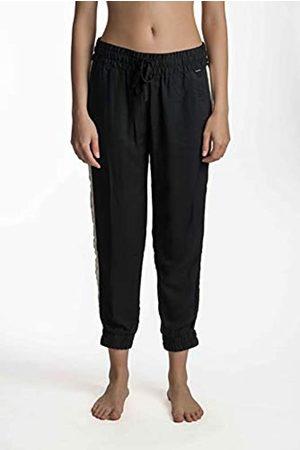 Hurley W Tuxedo Beach Jogger Pantalón De Chandal, Mujer, Black