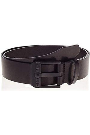 Diesel Men's BLUESTAR Belt, Black/Zama Nera Lucida