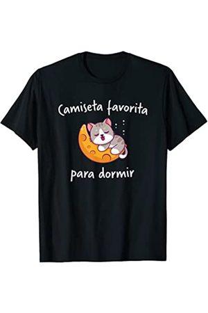 Dormir Dormir Gato Gatos Diseños Gato Gatos Dormir Pijama Camisón Camiseta