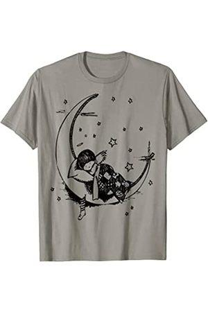 Fashion Tees Pijama de luna creciente Camiseta