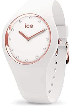 Ice-Watch ICE Cosmos White Rose-Gold - Reloj para Mujer con Correa de Silicona