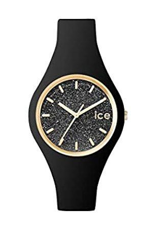 Ice-Watch ICE Glitter Black - Reloj para Mujer con Correa de Silicona
