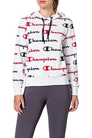 Champion Seasonal AC Logo Allover Hooded Sweatshirt Sudadera con Capucha