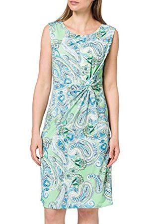 Blue Seven Damen Alloverdruck Kleid, Rundhals Vestido