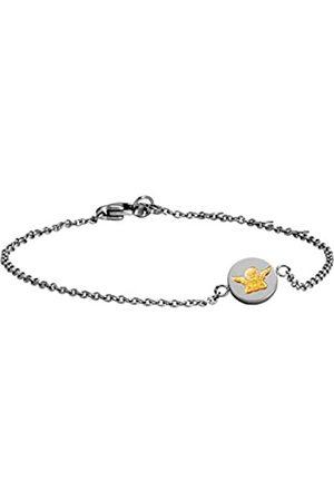 Nomination Unisex de Pulsera MyBonBons Acero Inoxidable teilvergoldet 19 cm – 065041/012