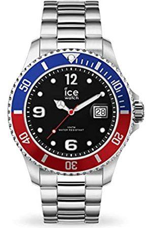 Ice-Watch Ice Steel United Silver - Reloj Plateado para Hombre con Correa de Metal