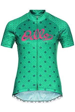 Odlo Camiseta Essential con Cremallera Completa para Mujer. XL