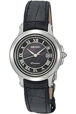 Seiko Reloj analogico para Mujer de Cuarzo con Correa en Piel SXDE05P1