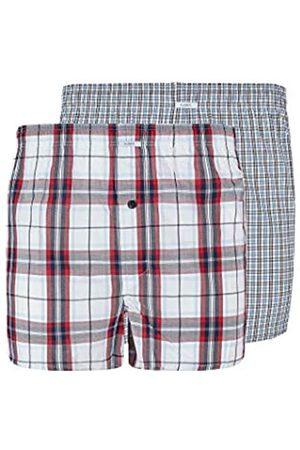 HUBER Herren Boxer Shorts 2er Pack Webboxer Selection XXL para Hombre