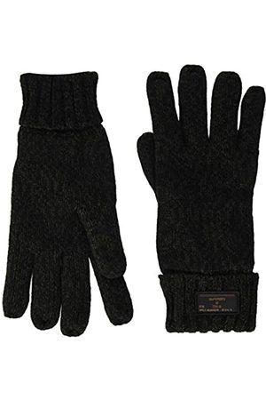 Superdry Hombre Guantes - Stockholm Glove Forros de guantes, Khaki/Black Twist