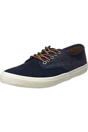 Springfield Sneaker Combinado Ante, Zapatillas Hombre, (Blue)