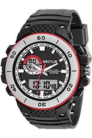Sector No Limits Reloj Analógico para Hombre de Cuarzo con Correa en Plástico R3251531002