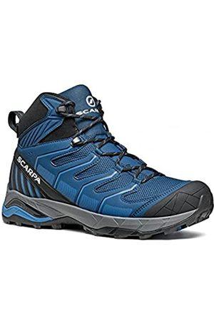 Scarpa Maverick Mid GTX, Botas de Senderismo Hombre, Blue-Light Blue Gore-Tex SHT Crossover
