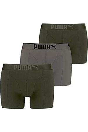 PUMA Premium Sueded Cotton Men's Boxers (3 Pack) Ropa Interior M para Hombre