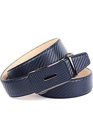 Anthoni Crown Ledergürtel Cinturón 115 cm para Hombre