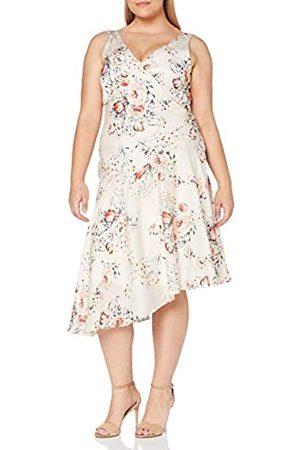 Gina Bacconi Women's Dolores Printed Satin Dress Vestido de cctel