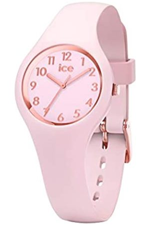 Ice-Watch Ice Glam Pastel Pink Lady Numbers - Reloj para Mujer con Correa de Silicona