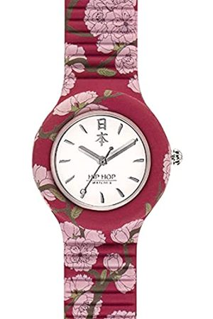 Hip Mujer Relojes - Reloj Analógico para Mujer de Cuarzo con Correa en Silicona HWU0863